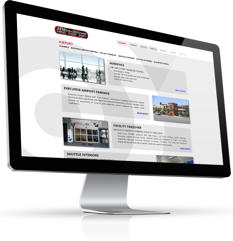 ATMedia website monitor