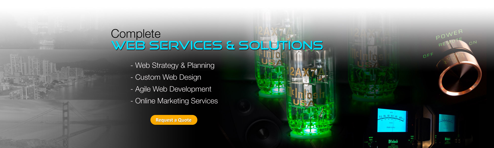 Complete Web Services and Solutions