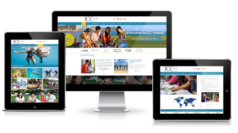 ICC Hawaii Web Design