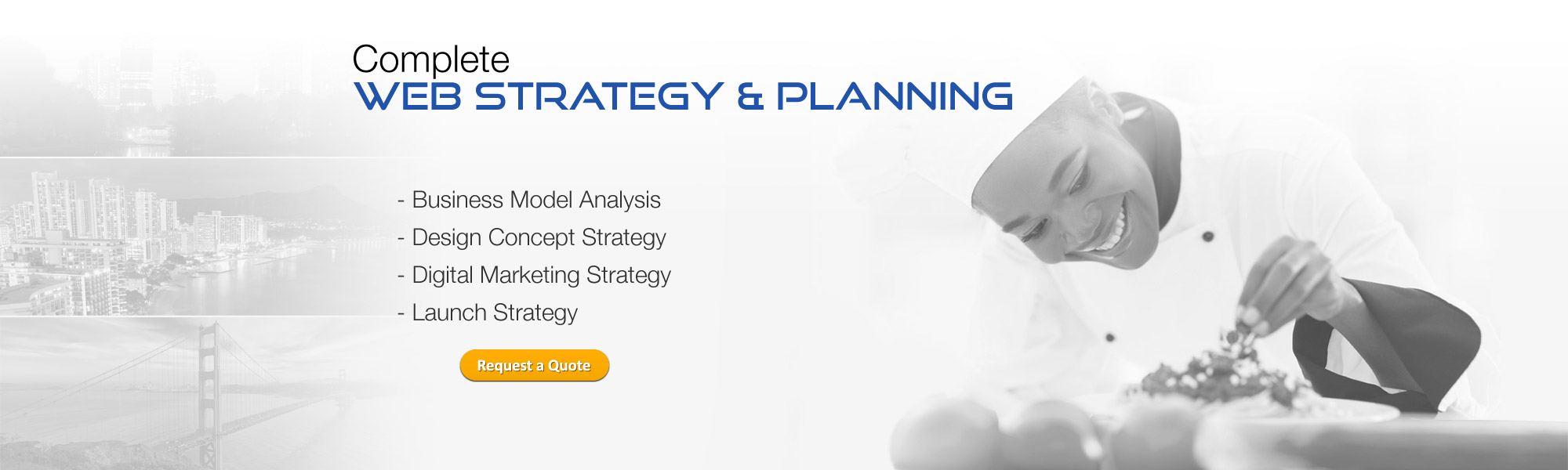 Complete Web Strategy and Planning